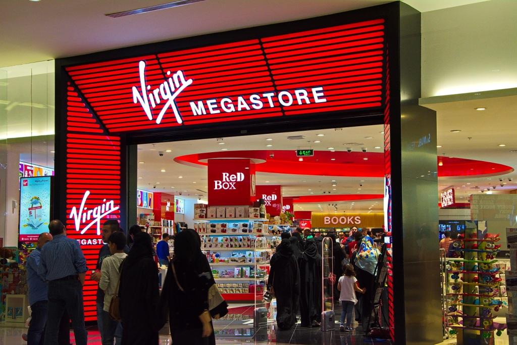 Virgin Megastore - Store Locator